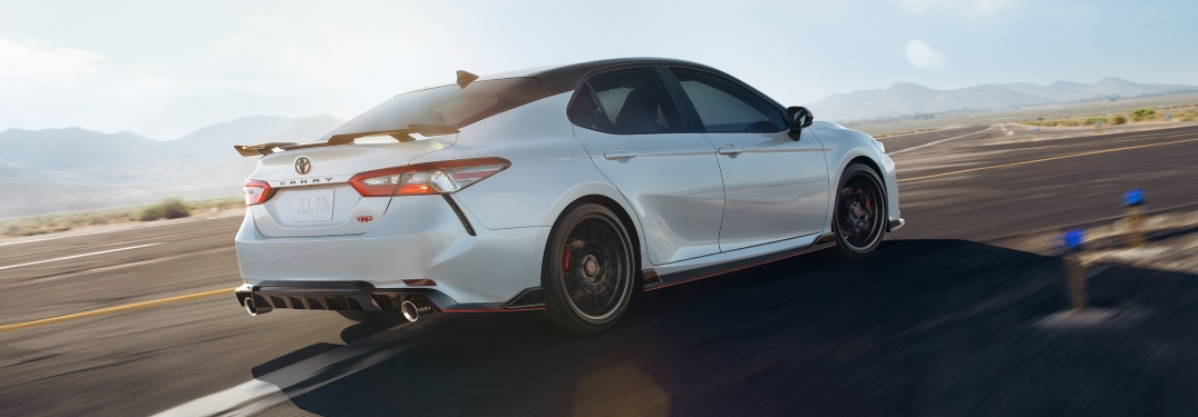 How does the Camry TRD set itself apart from the rest of the lineup?