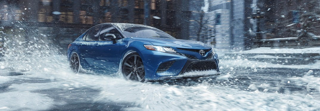 Does Toyota make any all-wheel-drive sedans?