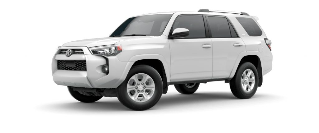 2020 Toyota 4Runner Super White Exterior Color Option