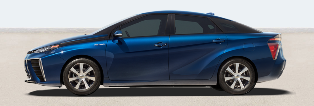 What is the Fuel Economy Rating on the 2016 Toyota Mirai?