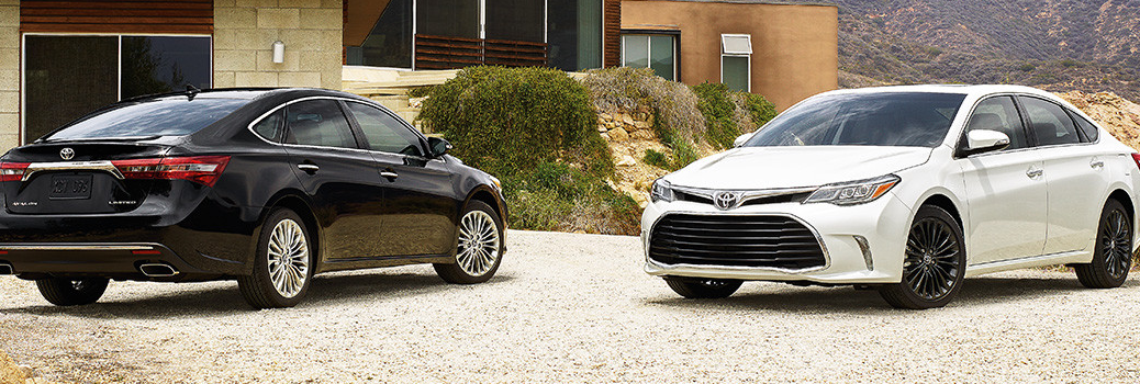 Exterior of the new 2016 Toyota Avalon
