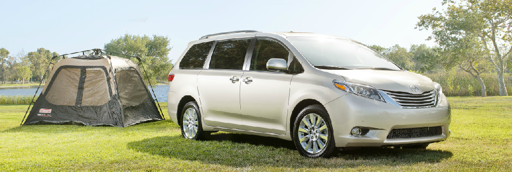 Camping With the 2016 Toyota Sienna