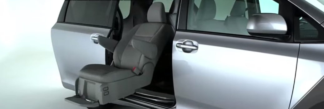 Auto Access Seat Feature on the 2016 Toyota Sienna