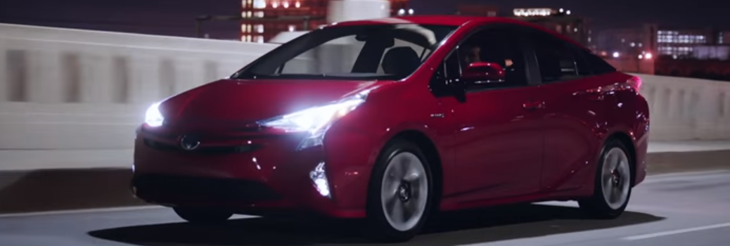 Red 2016 Toyota Prius