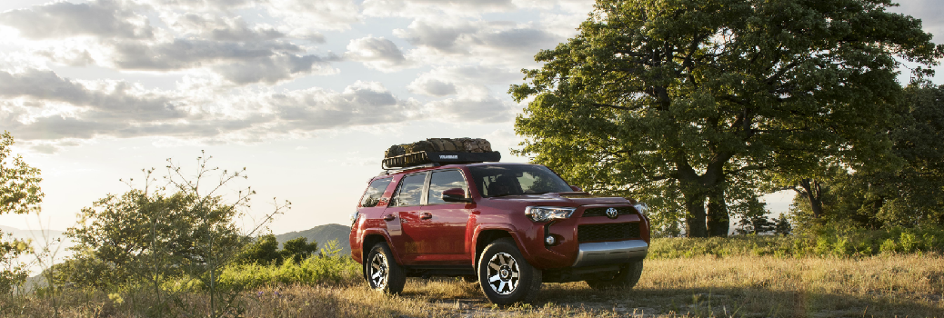 Exterior of the 2017 Toyota 4Runner TRD Off-Road Premium