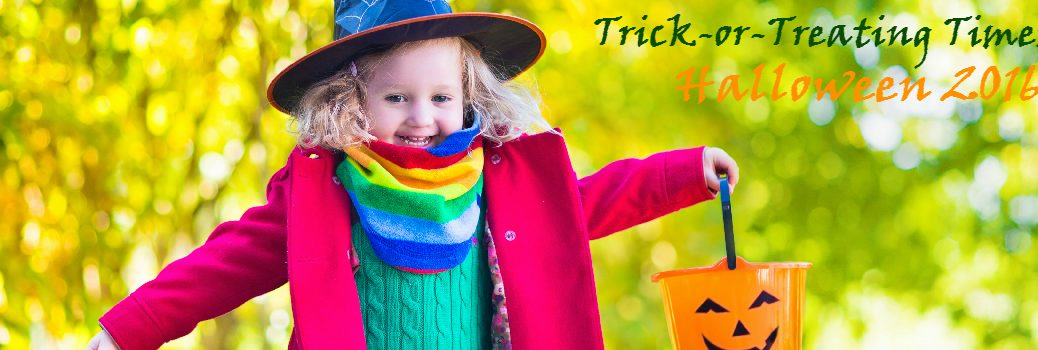 Trick-or-Treating Times in Nashville for 2016