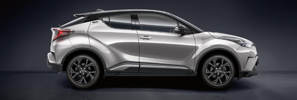 Side View of the Toyota C-HR
