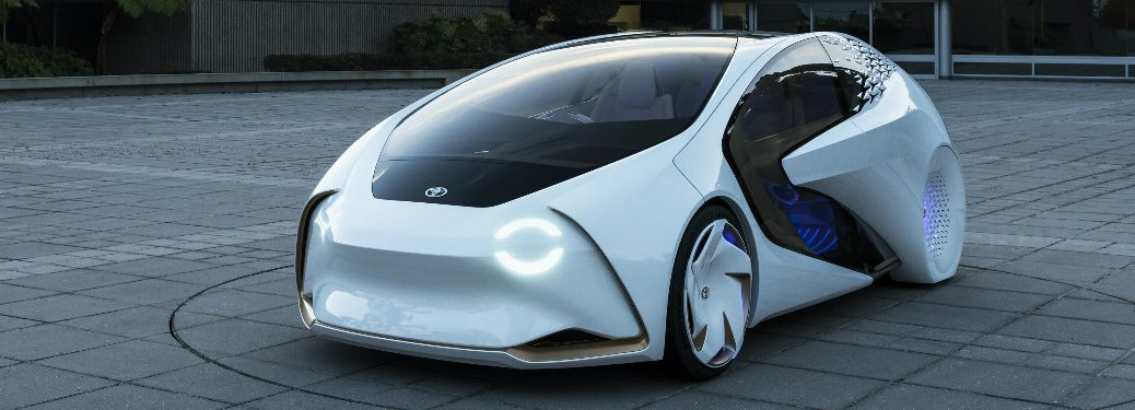 Toyota Concept-i exterior front