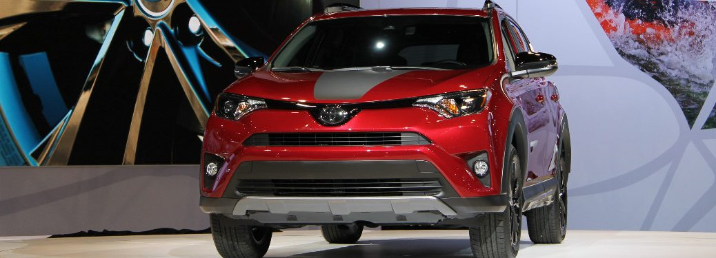 2018 Toyota RAV4 Adventure at CAS 2017