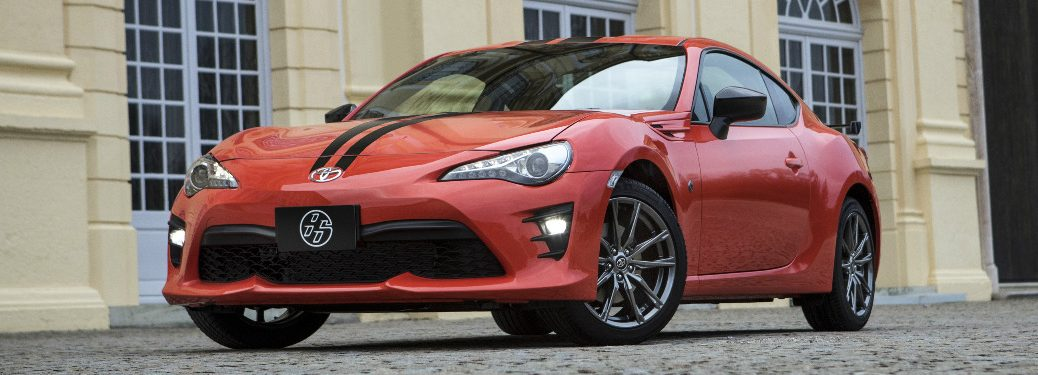 Supernova Orange 2017 Toyota 860 exterior front parked
