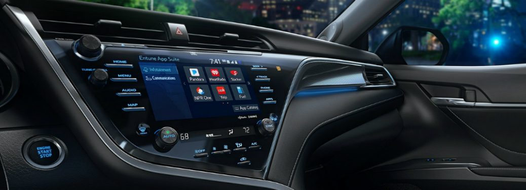 Toyota Entune 3.0 system in the 2018 Toyota Camry