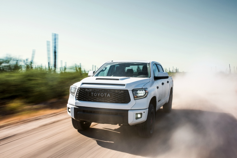 2019 Toyota Tundra TRD Pro front view