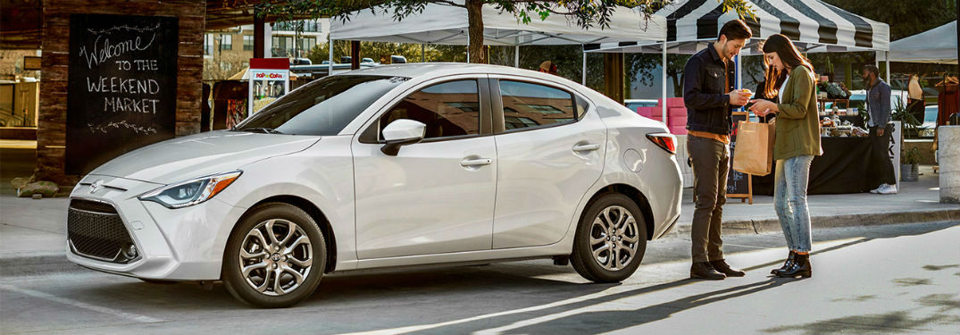 What are the safety features & release date of the 2019 Toyota Yaris?