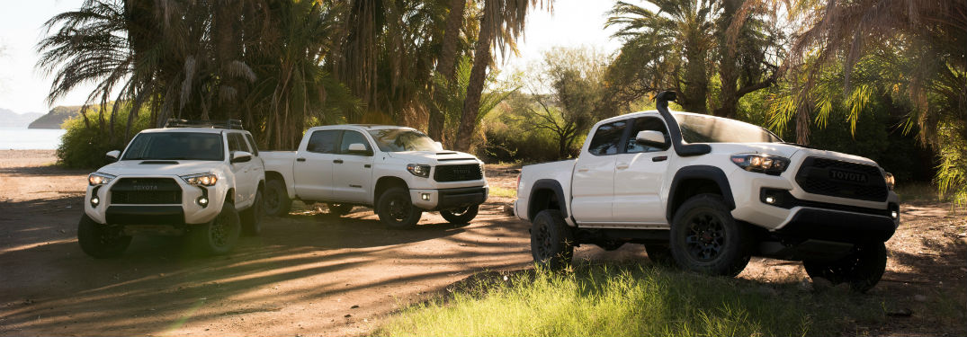 Technology and other features in the 2019 Toyota TRD Pro models