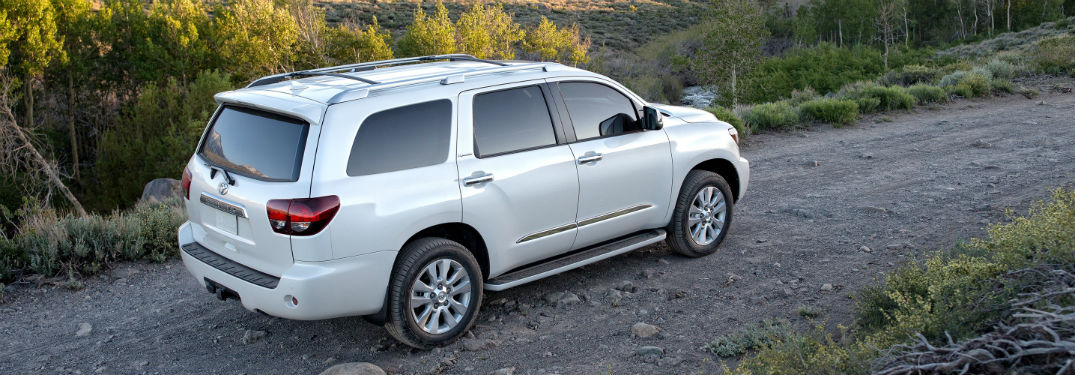 What are the trim levels of the 2019 Toyota Sequoia?