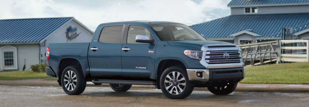 2019 Toyota Tundra trim levels and safety features