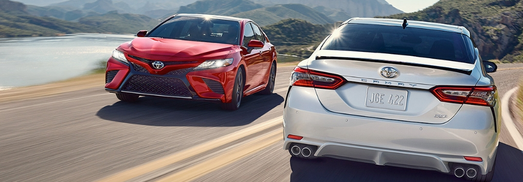 What are the safety features of the 2019 Toyota Camry?