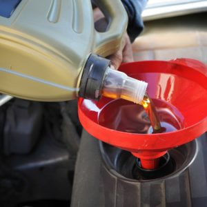 vehicle oil change