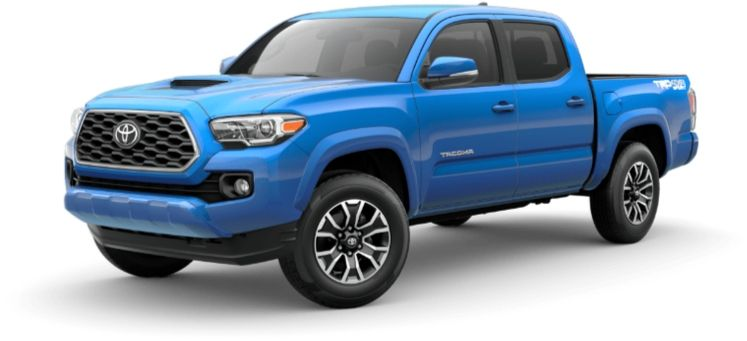2020 Toyota Tacoma in voodoo blue