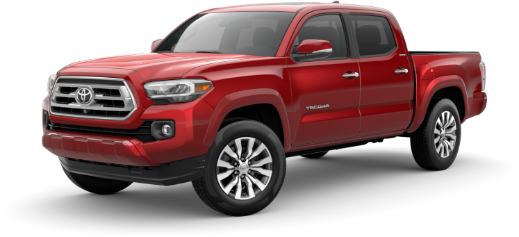 2020 Toyota Tacoma in Barcelona red