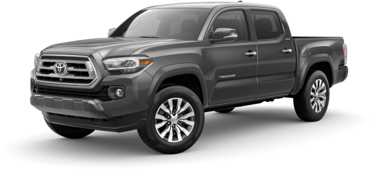 2020 Toyota Tacoma in magnetic gray