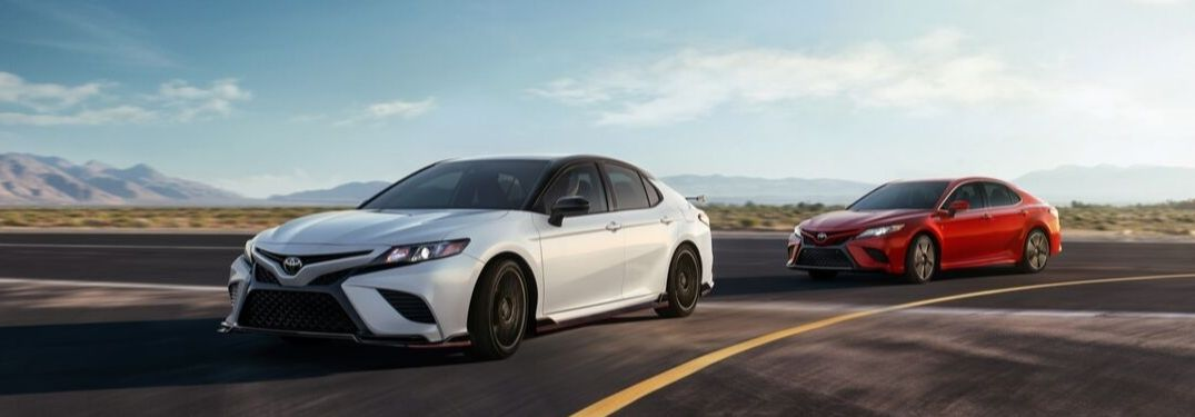 What Exterior Colors Are Available on the 2020 Toyota Camry