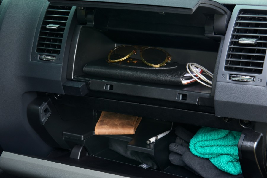 2020 Toyota Sequoia glove compartment