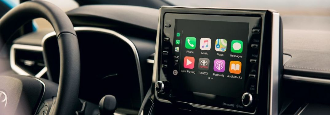 Which Toyota Models Offer Apple CarPlay and Android Auto Integration?