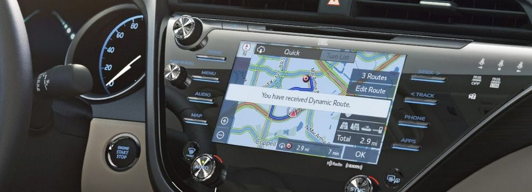 Toyota Premium Audio System with Dynamic Navigation