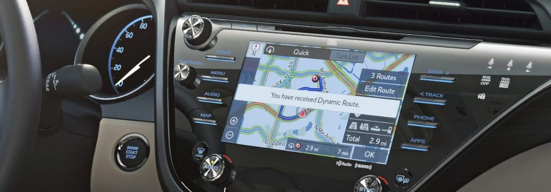 How To Use Toyota Dynamic Navigation