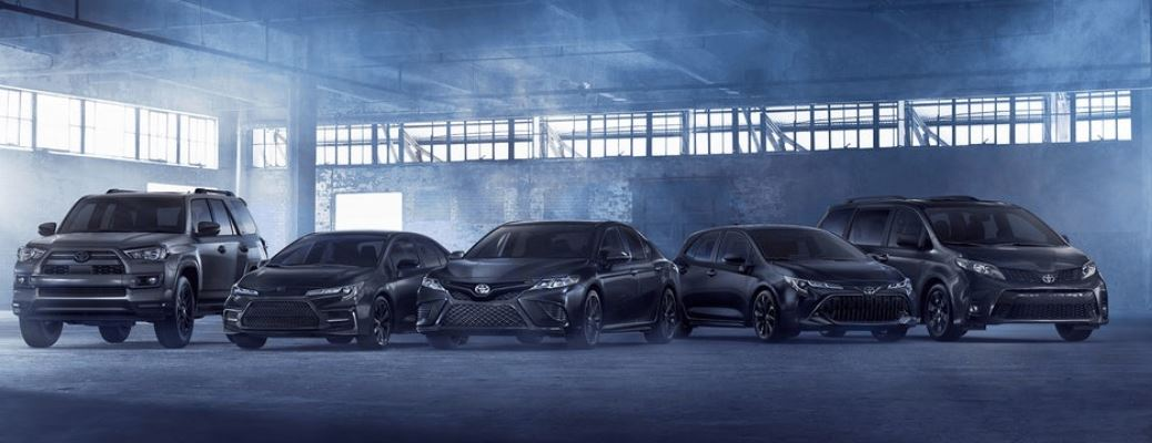 2021 Toyota Corolla SE Nightshade Edition with other models