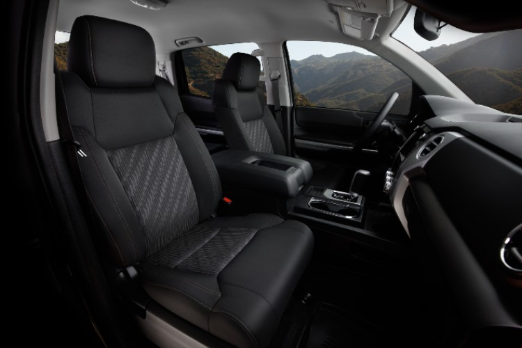 2021 Toyota Tundra Trail Special Edition seating