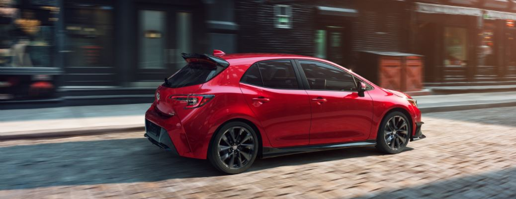 2021 Toyota Corolla Hatchback best features and specifications
