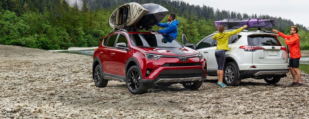 What can I expect from the cargo spaces in Toyota SUVs?