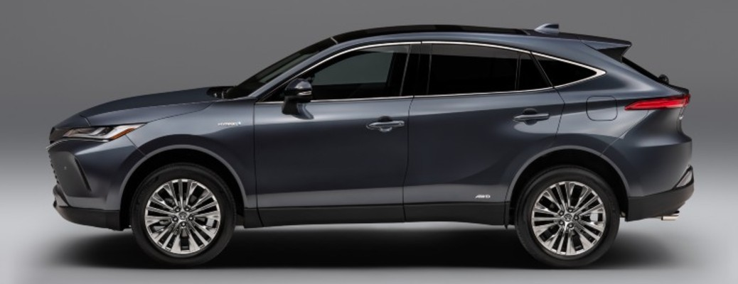Side view of the 2021 Toyota Venza