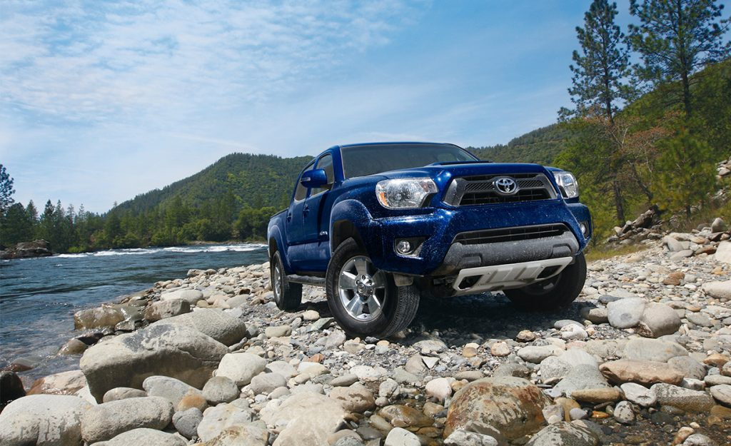 Differences between 2015 and 2016 Toyota Tacoma