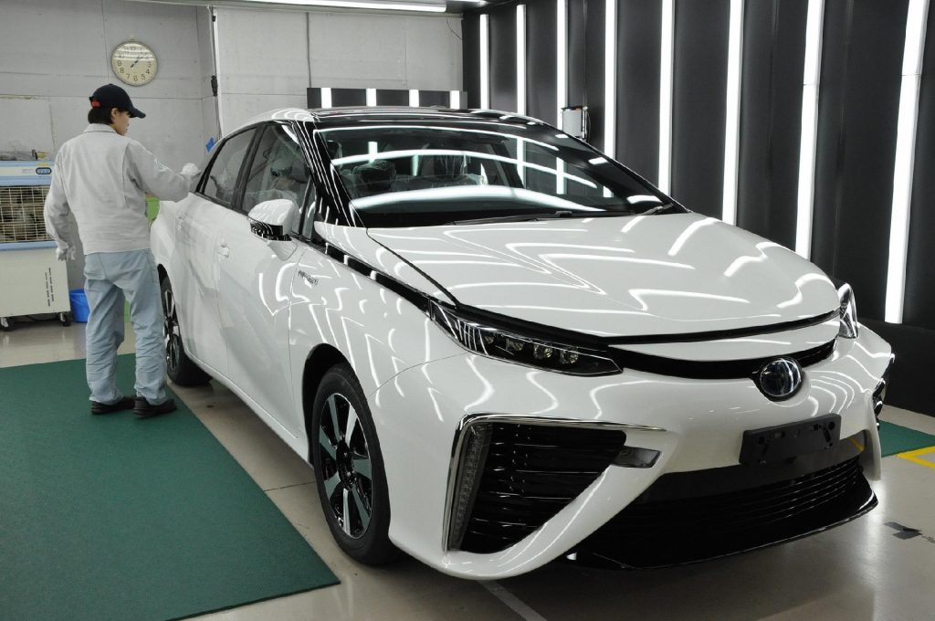 Official Toyota Mirai fuel cell vehicle release date grand junction co