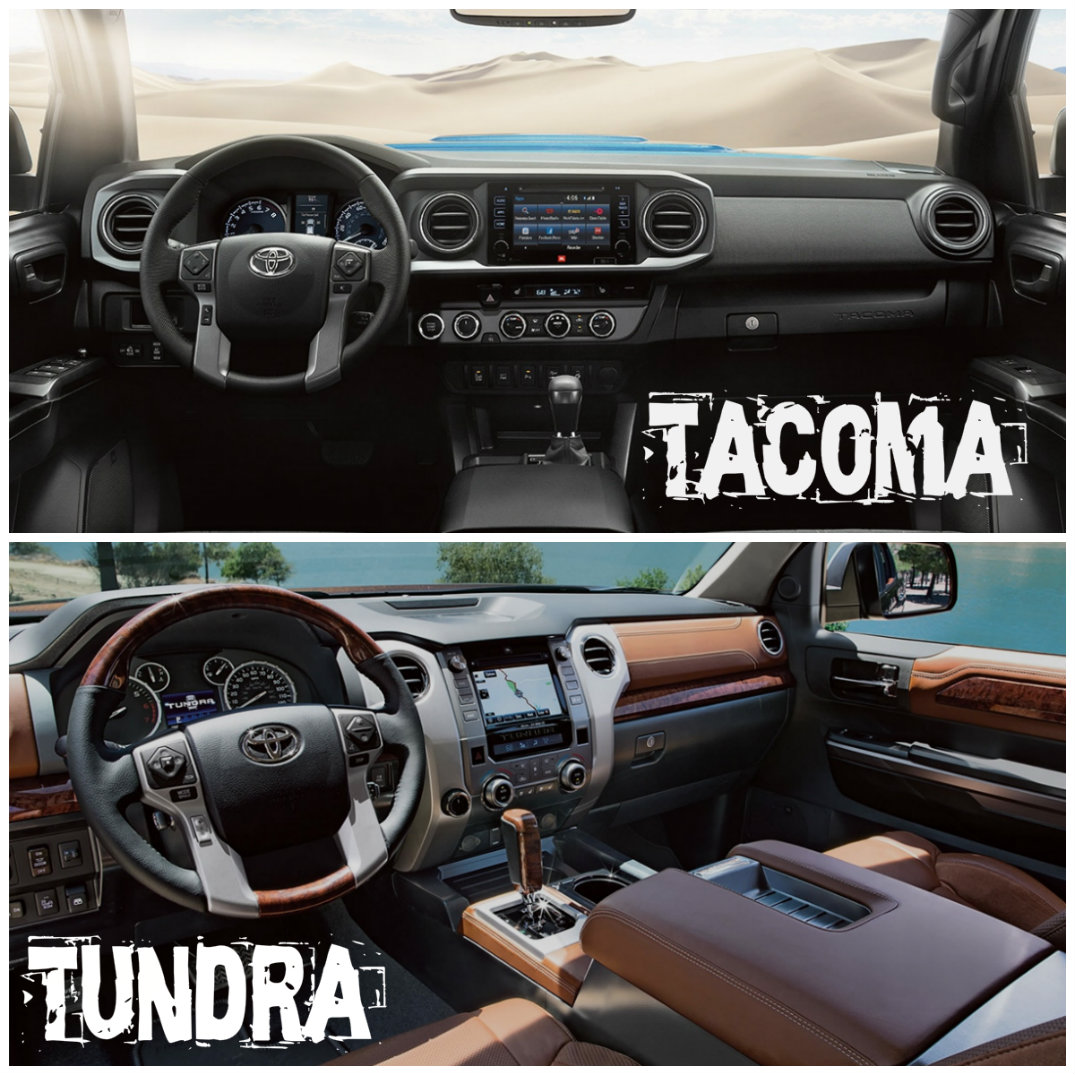 Tacoma interior vs Tundra interior