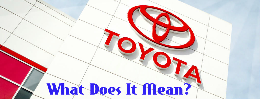 What Do Toyota Model Names Mean?