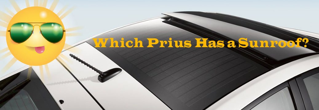 does the Prius have a sunroof?