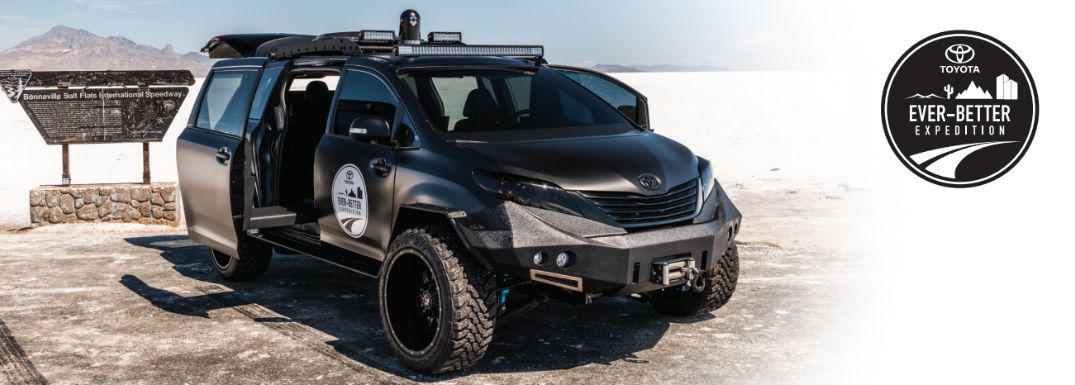 A Toyota Sienna Body on a Tacoma Chassis?