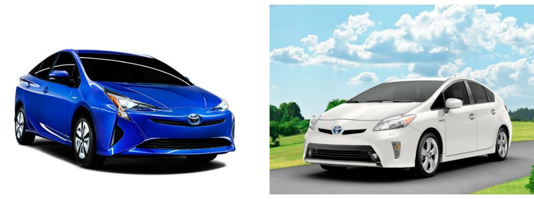 What's the difference between the 2016 Prius and 2015 Prius