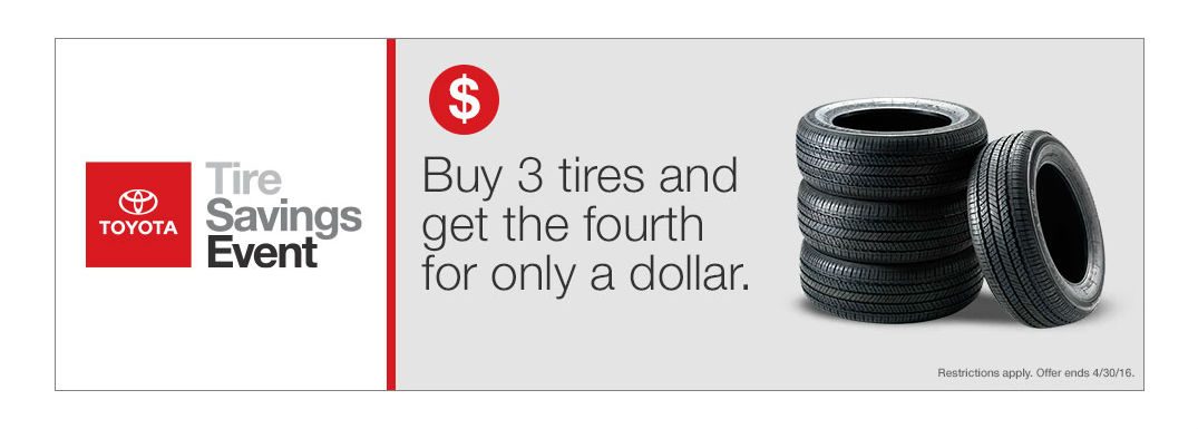 Toyota Tire Savings Event in Grand Junction CO
