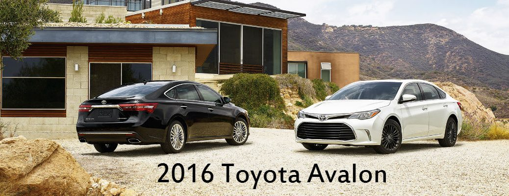 The All-New 2017 Toyota Avalon
