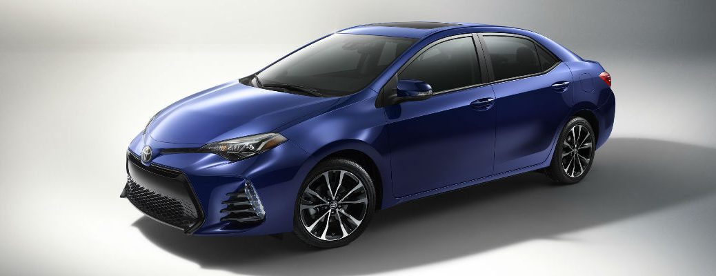 2017 Corolla in Blue