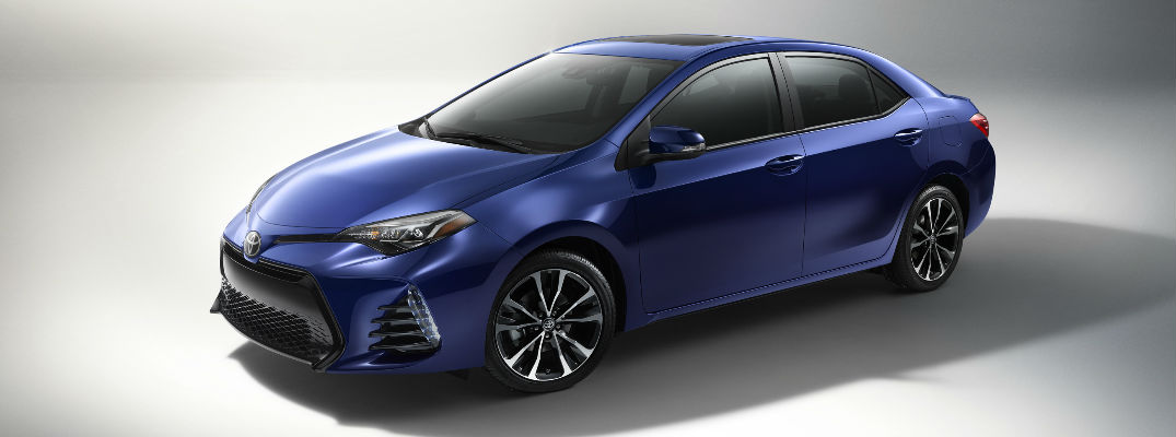 What's new on the 2017 Toyota Corolla?