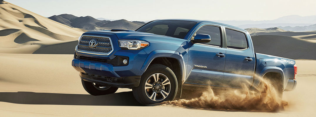 What are the trim level options for the 2017 Toyota Tacoma?