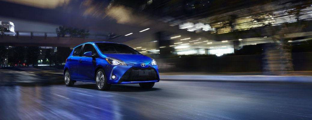 2018 Toyota Yaris New York Auto Show