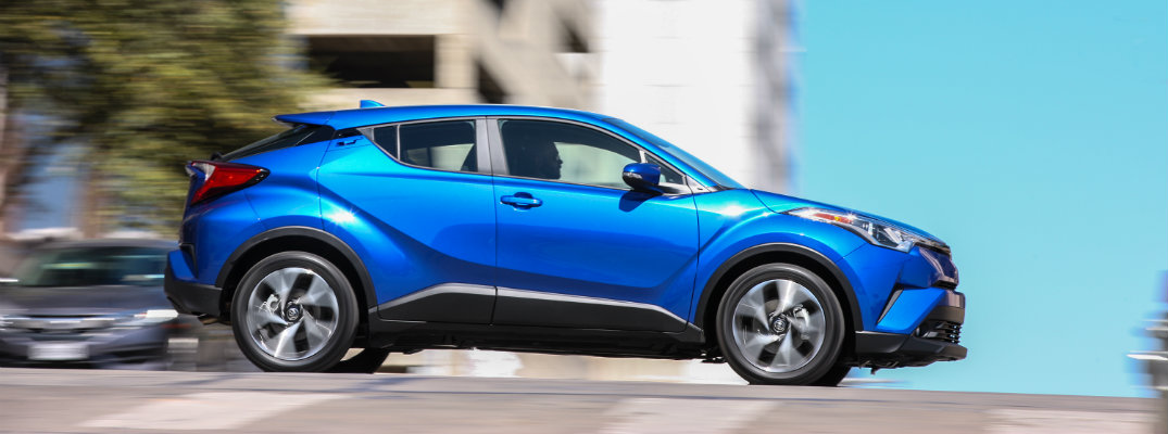 Available Safety Features in the 2018 Toyota C-HR