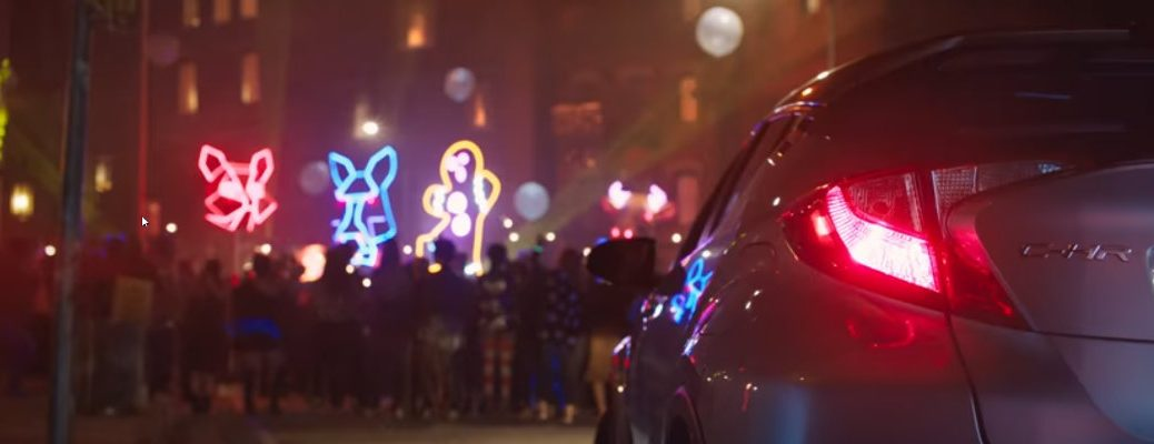 2018 Toyota C-HR Gingerbread Man Commercial